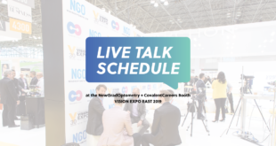 Vision Expo East 2019 Live Talk Schedule NGO