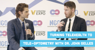 Turning Telehealth to Tele-optometry with Dr. John Gelles